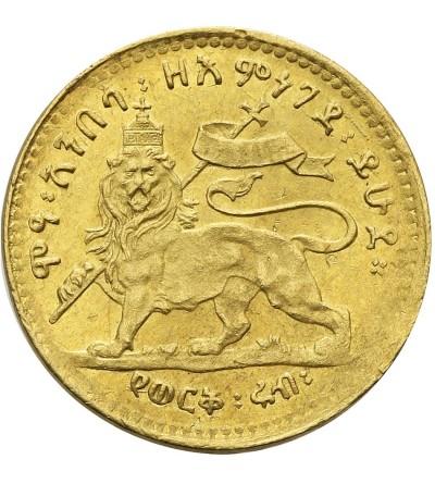 Etiopia 1/4 Werk EE 1889 / 1897 AD