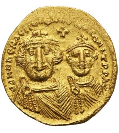 Heraclius AD 610-641.  AV Solidus, Constantinopole mint. 1. Offizin, Circa 625-629