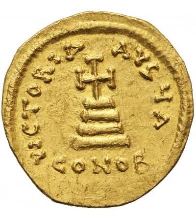 Bizancjum. Herakliusz 610-641.  AV Solid, Konstantynopol. I oficyna ok. 625-629 r. n.e.