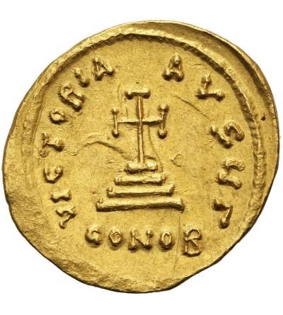 Bizancjum. Herakliusz 610-641.  AV Solid, Konstantynopol. 3 oficyna ok. 625-629 r. n.e.