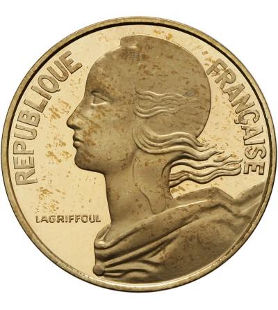 Francja 20 Centimes 1977 - Piefort