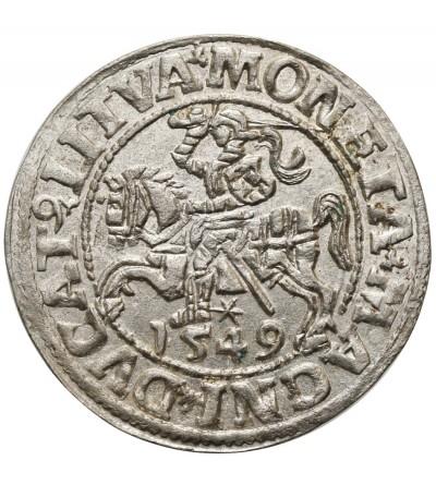 Półgrosz (1/2 grosza) 1549, Wilno