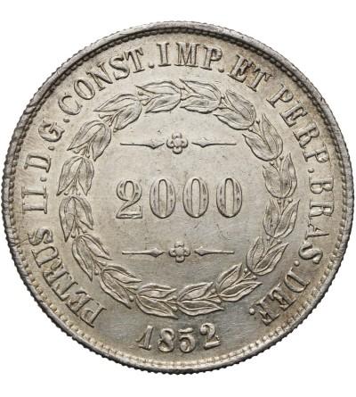Brazylia 2000 reis 1852