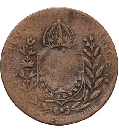 Brazylia 10 reis 1835 / 1829 kontramarka
