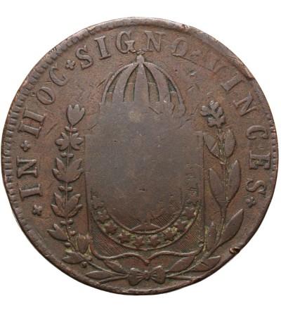 Brazylia 40 reis 1835 / 1832 R kontramarka