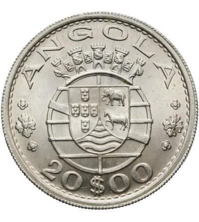 Angola 20 escudos 1955