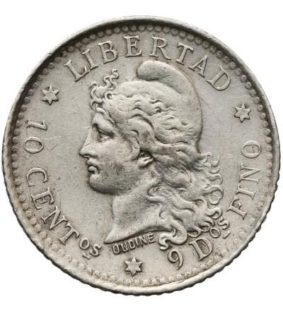 Argentyna 10 centavos 1882