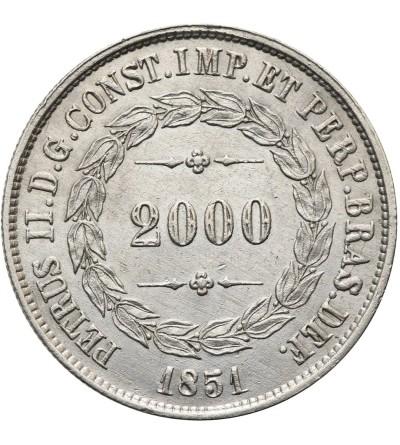 Brazylia 2000 reis 1851