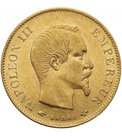 Francja 10 franków 1858 A, Paryż