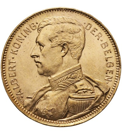 Belgium 20 Francs 1914, DER BELGEN