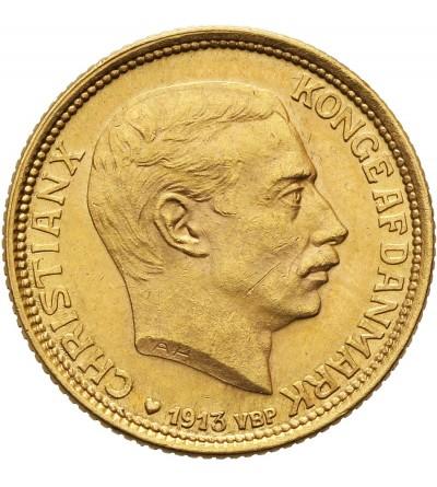 Denmark 10 Kroner 1913 VBP