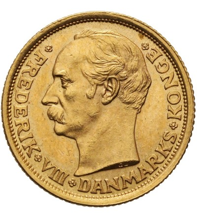 Dania 10 koron 1909 VBP