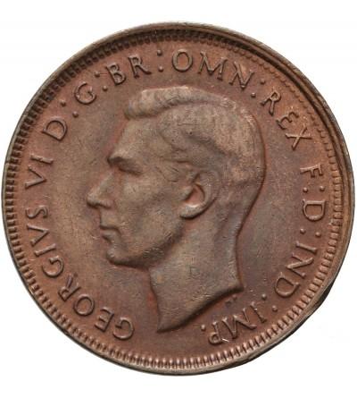 Australia 1/2 penny 1948 P