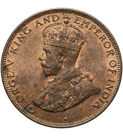 Hong Kong 1 cent 1933