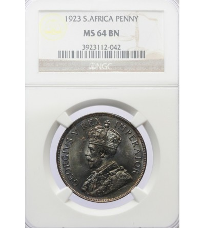 RPA 1 Penny 1923 - NGC MS 64 BN
