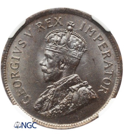 RPA 1/2 Penny 1924 - NGC MS 65 BN