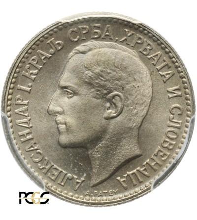 Yugoslavia 50 Para 1925 (b) - PCGS MS 65