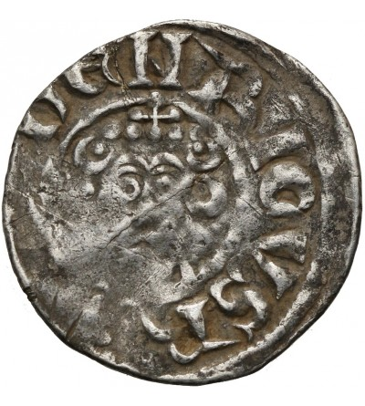 Anglia. Henryk III 1180-1272, AR Penny bez daty