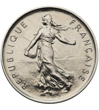 France 5 Francs 1977, Piefort
