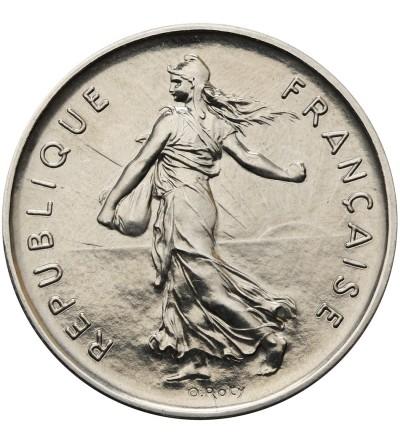 Francja 5 franków 1977 - Piefort