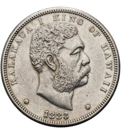 Hawaje 1 dolar (Akahi Dala) 1883