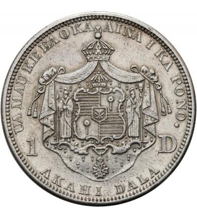 Hawaii Dollar (Akahi Dala) 1883