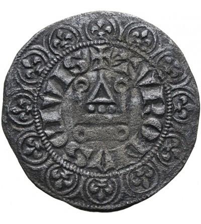Francja. Grosz turoński bez daty, Filip V 1316-1322