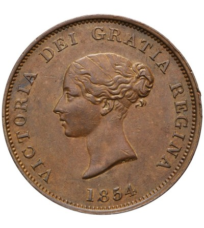 Canada New Brunswick. Token Penny 1854