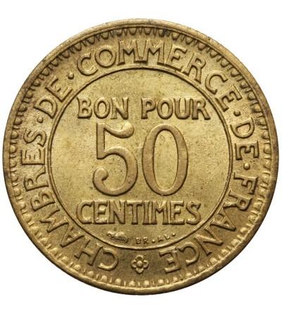 Francja 50 Centimes 1922