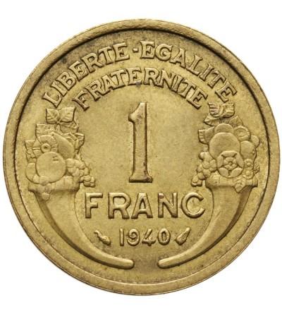 Francja 1 frank 1940