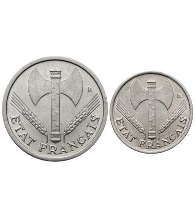 Francja 50 Centimes 1 frank 1943