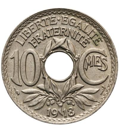 Francja 10 Centimes 1918