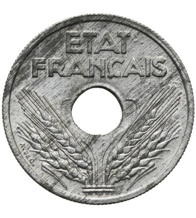 Francja 10 Centimes 1943