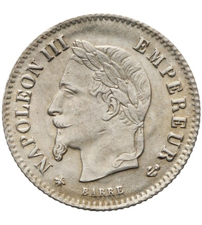 France 20 Centimes 1867 A