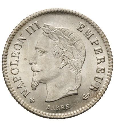 Francja 20 Centimes 1867 BB