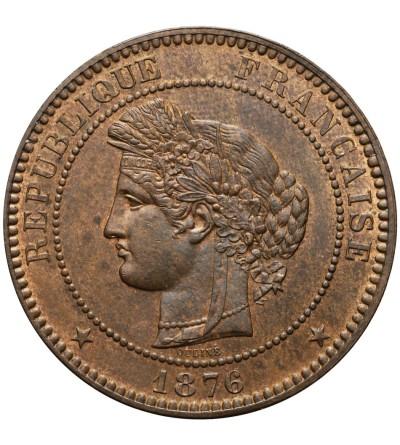 Francja 10 Centimes 1876 A