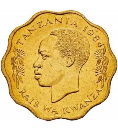 Tanzania 10 senti 1984