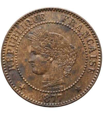 France 2 Centimes 1877 A