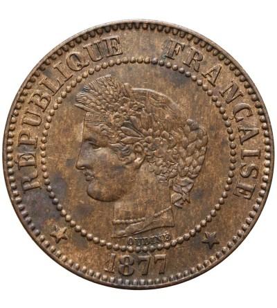 Francja 2 Centimes 1877 A