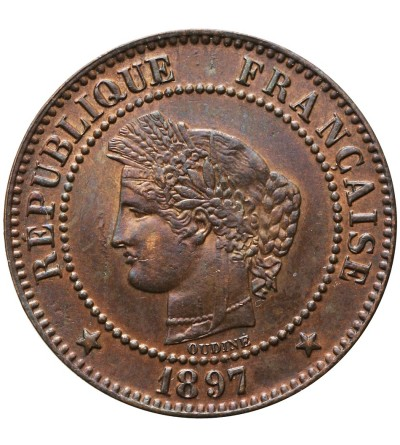 France 2 Centimes 1897 A