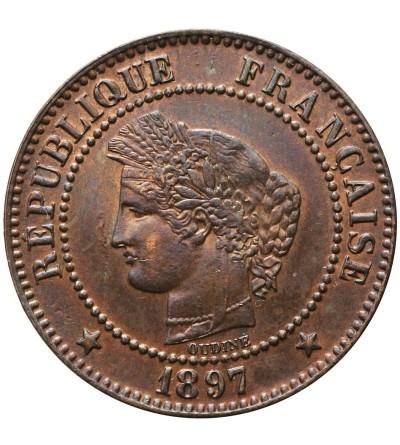 Francja 2 Centimes 1897 A