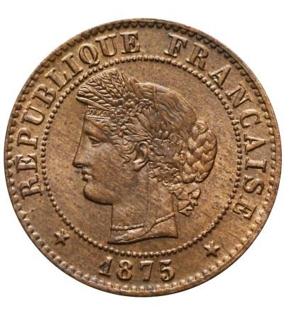 Francja 1 Centime 1875 A