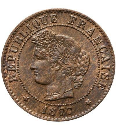 France Centime 1877 A