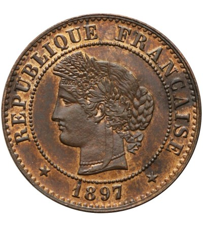 Francja 1 Centime 1897 A