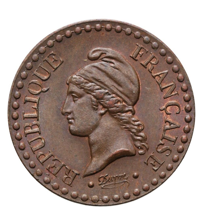 Francja 1 Centime 1850 A