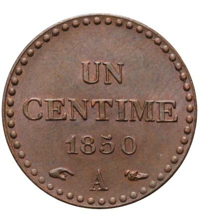 France Centime 1850 A