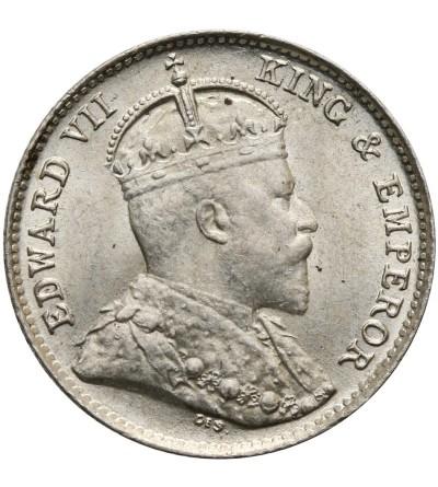 Ceylon 10 Cents 1908