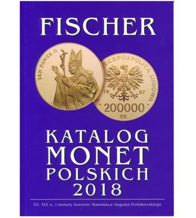 Katalog monet polskich 2018 - Fischer