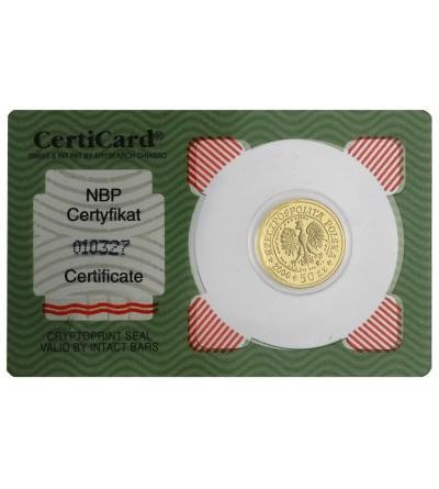 50 złotych 2000, Orzeł Bielik