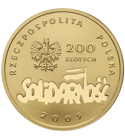 Poland 200 Zlotych 2005, Solidarnosc